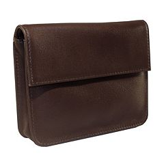 Royce Leather RFID-Blocking EXEC Wallet