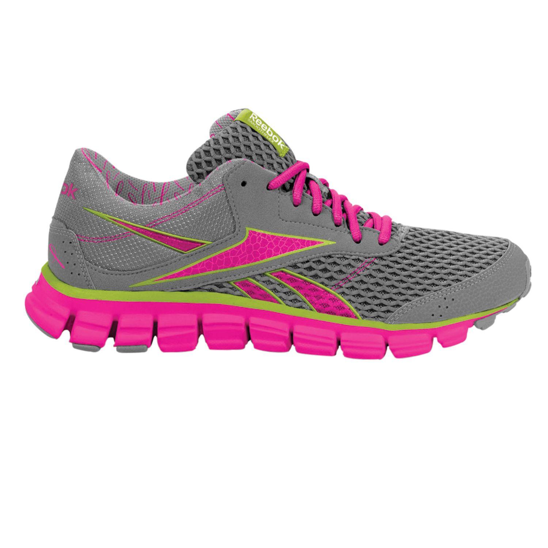 Reebok Pink SmoothFlex 3 Pink Ribbon High-Performance Running Shoes - Women