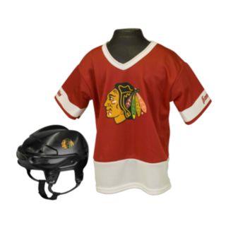 Franklin NHL Chicago Blackhawks Uniform Set - Kids