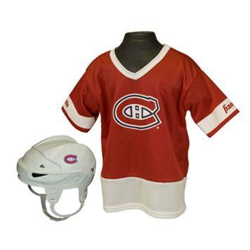 Franklin NHL Montreal Canadiens Uniform Set - Kids