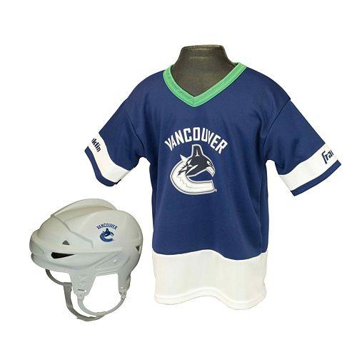 Franklin NHL Vancouver Canucks Uniform Set - Kids