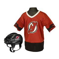 Franklin NHL New Jersey Devils Uniform Set - Kids