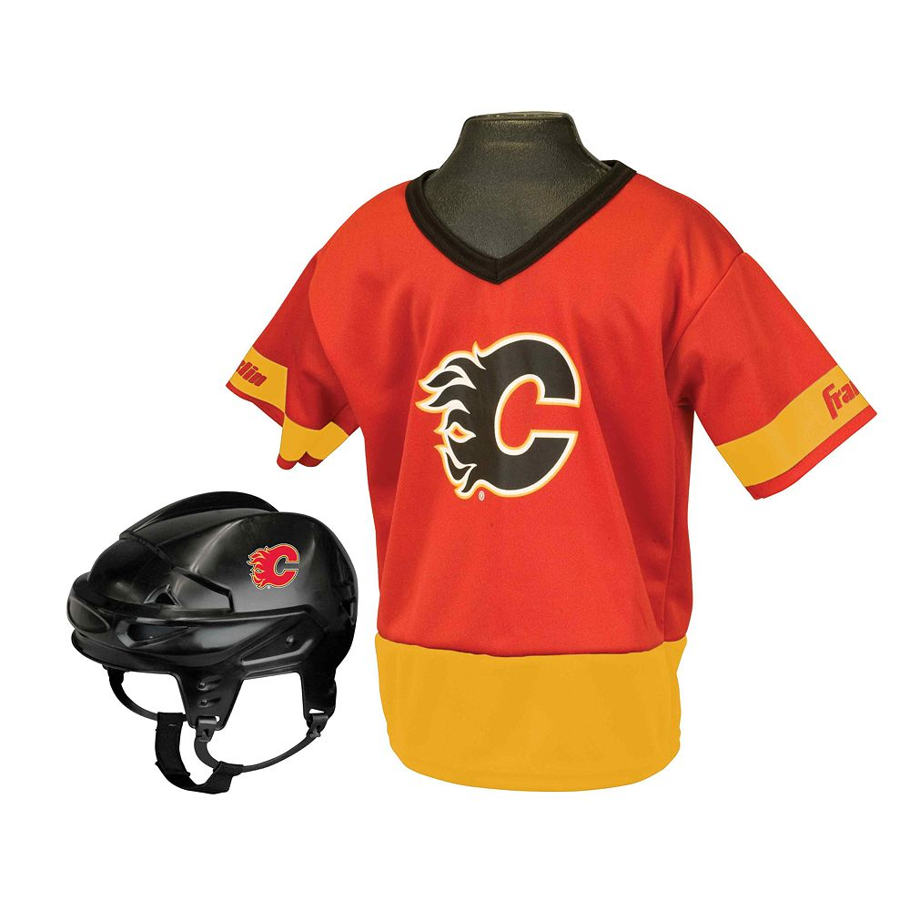 Franklin NHL Calgary Flames Uniform Set - Kids