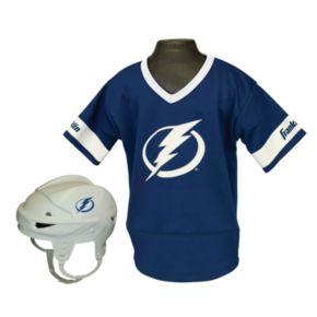 Franklin NHL Tampa Bay Lightning Uniform Set - Kids