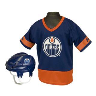 Franklin NHL Edmonton Oilers Uniform Set - Kids