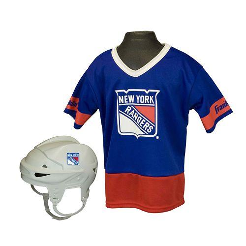 Franklin NHL New York Rangers Uniform Set - Kids