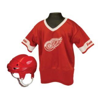 Franklin NHL Detroit Red Wings Uniform Set - Kids