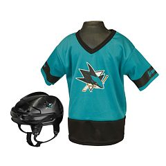 Franklin NHL San Jose Sharks Uniform Set - Kids