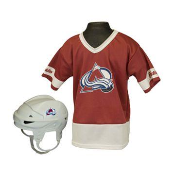 Franklin NHL Colorado Avalanche Uniform Set - Kids