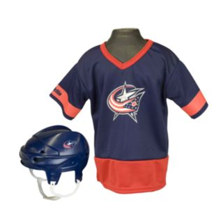 Franklin NHL Columbus Blue Jackets Uniform Set - Kids