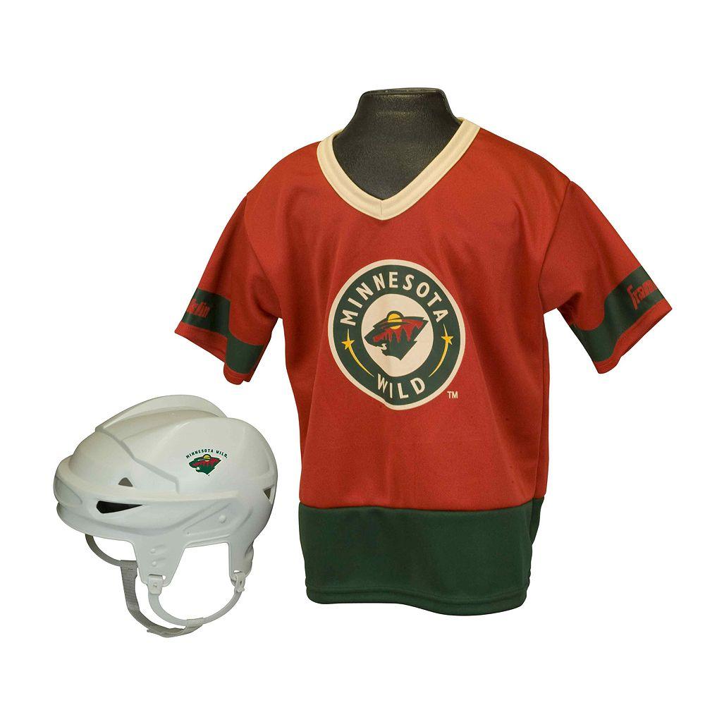 Franklin NHL Minnesota Wild Uniform Set - Kids