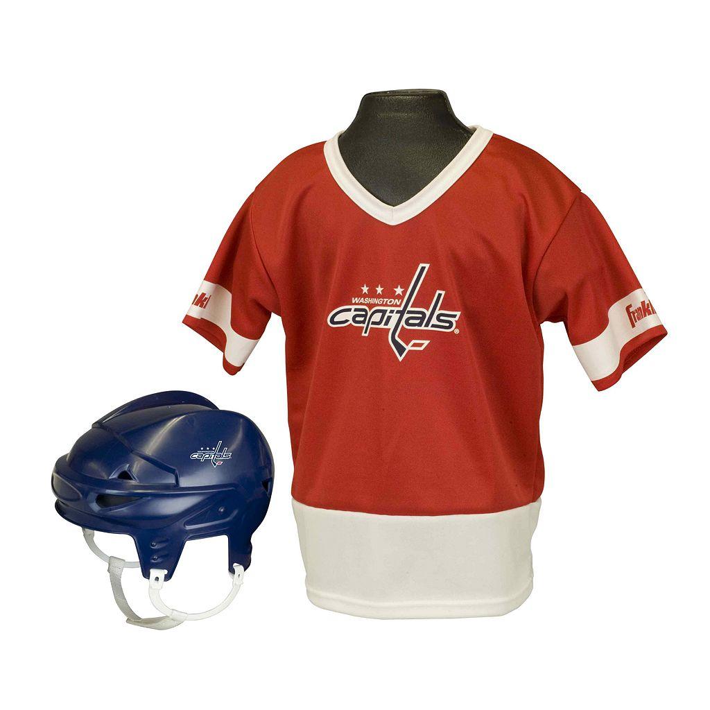 Franklin NHL Washington Capitals Uniform Set - Kids