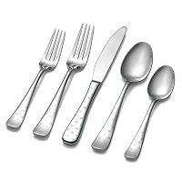 Hampton Forge Dots 45 pc Flatware Set