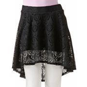 Joe Benbasset Lace Hi-Low Skirt - Juniors