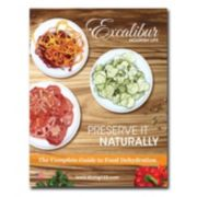"Excalibur ""Preserve It Naturally"" Book"