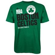 adidas Boston Celtics Stacked Extreme Tee - Men