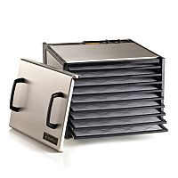 Excalibur 9-Tray Stainless Steel Food Dehydrator