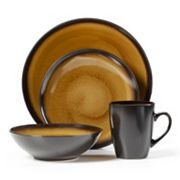 Pfaltzgraff Everyday Orion Gold 16-pc. Dinnerware Set
