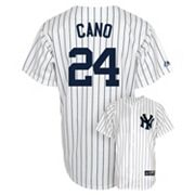 Majestic New York Yankees Robinson Cano Replica Jersey - Men