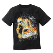 Tony Hawk Skully Fire Tee - Boys 4-7x