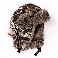 Huntworth Faux Fur Bomber Hat - Men