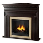 Real Flame Mt. Vernon Corner Gel Fireplace - Indoor