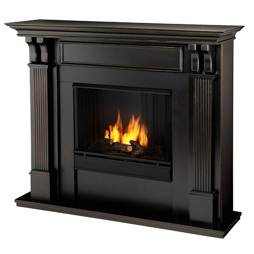 Real Flame Ashley Ventless Gel Fireplace - Indoor