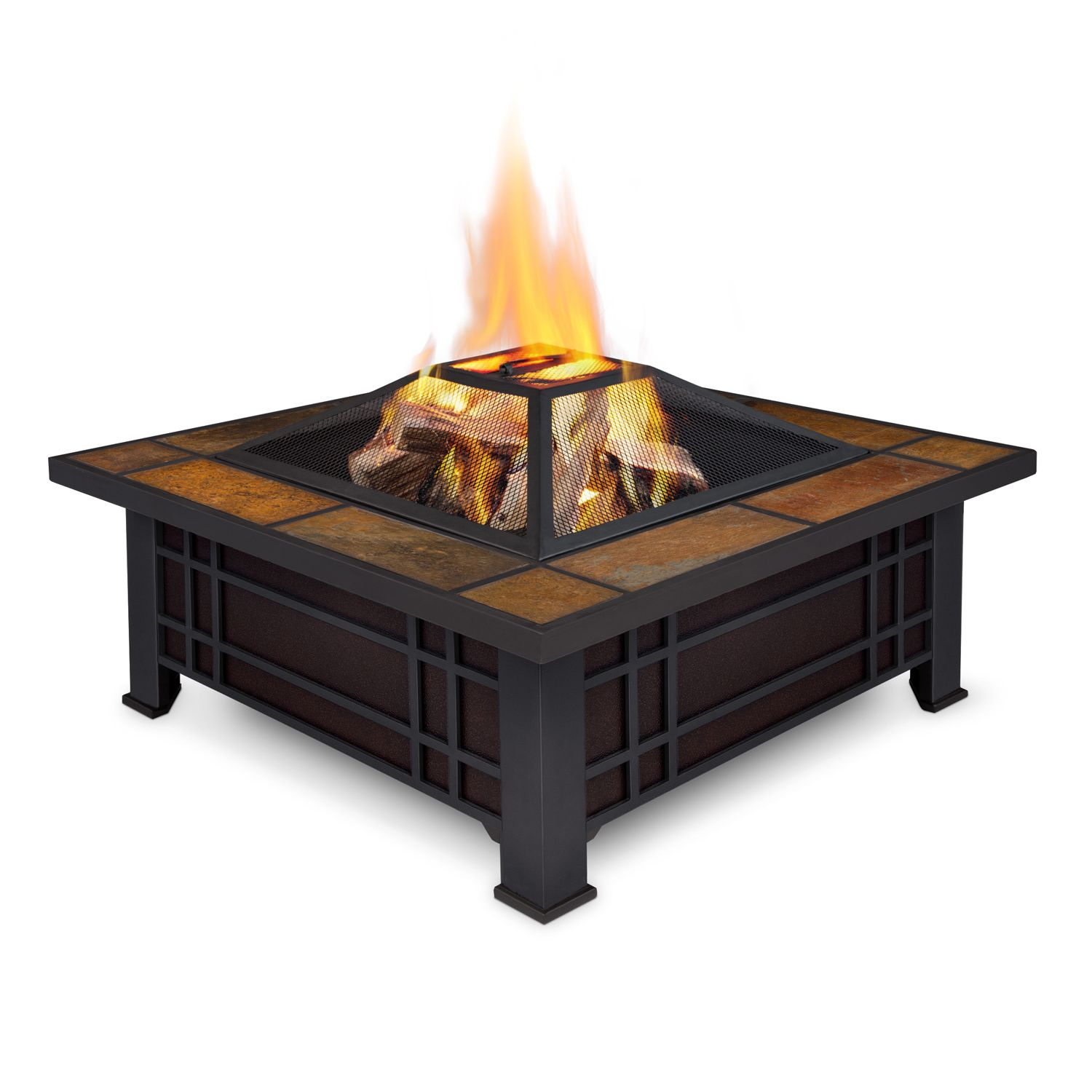 Epic Real Flame Morrison Fire Pit Outdoor