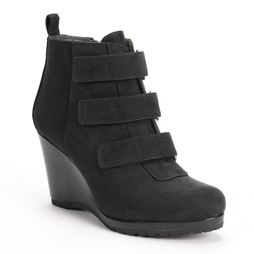 Dana Buchman Wedge Booties - Women