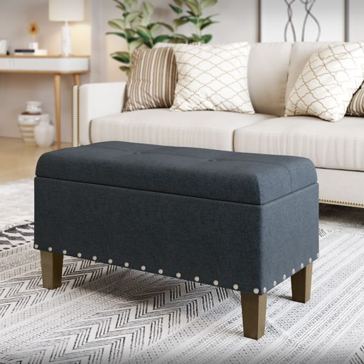 SONOMA Goods for Life™ Madison Storage Bench Ottoman