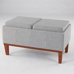 SONOMA Goods for Life™ Turner Storage Bench Ottoman