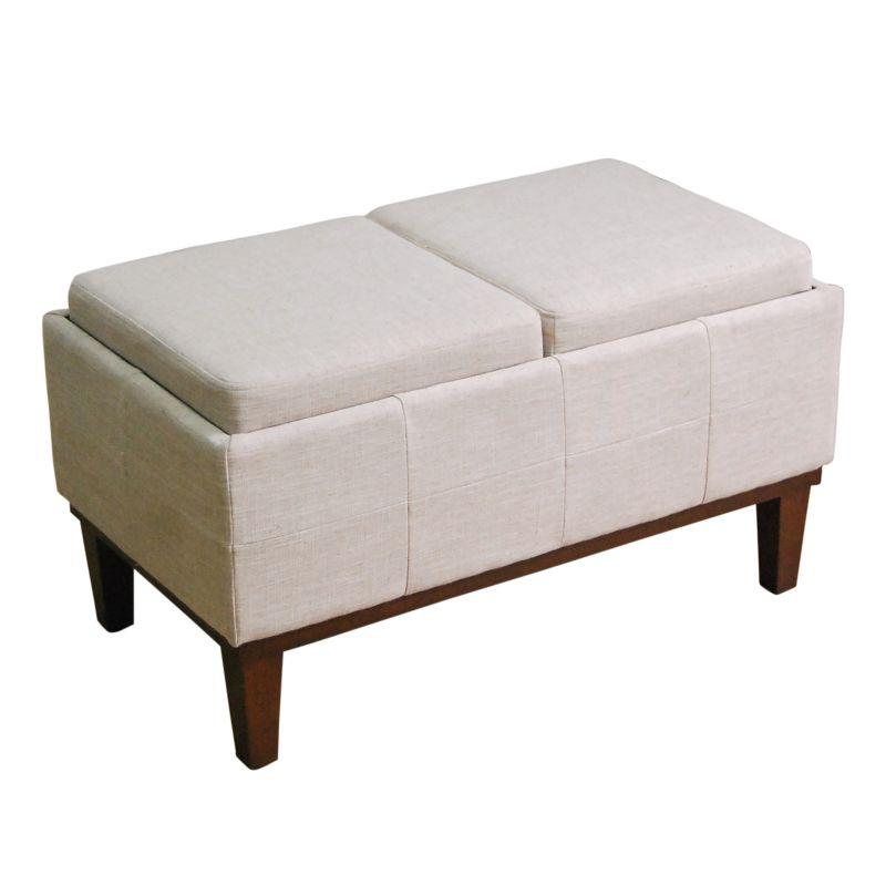 Polyester Storage Ottoman Kohl S