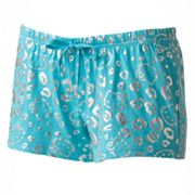Hello Kitty Shine On Pajama Shorts - Juniors'