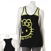 Hello Kitty Wild Cat Pajama Tank - Juniors'