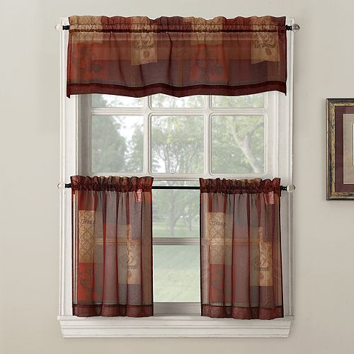 "Eden Tier Window Valance - 56"" x 14"""