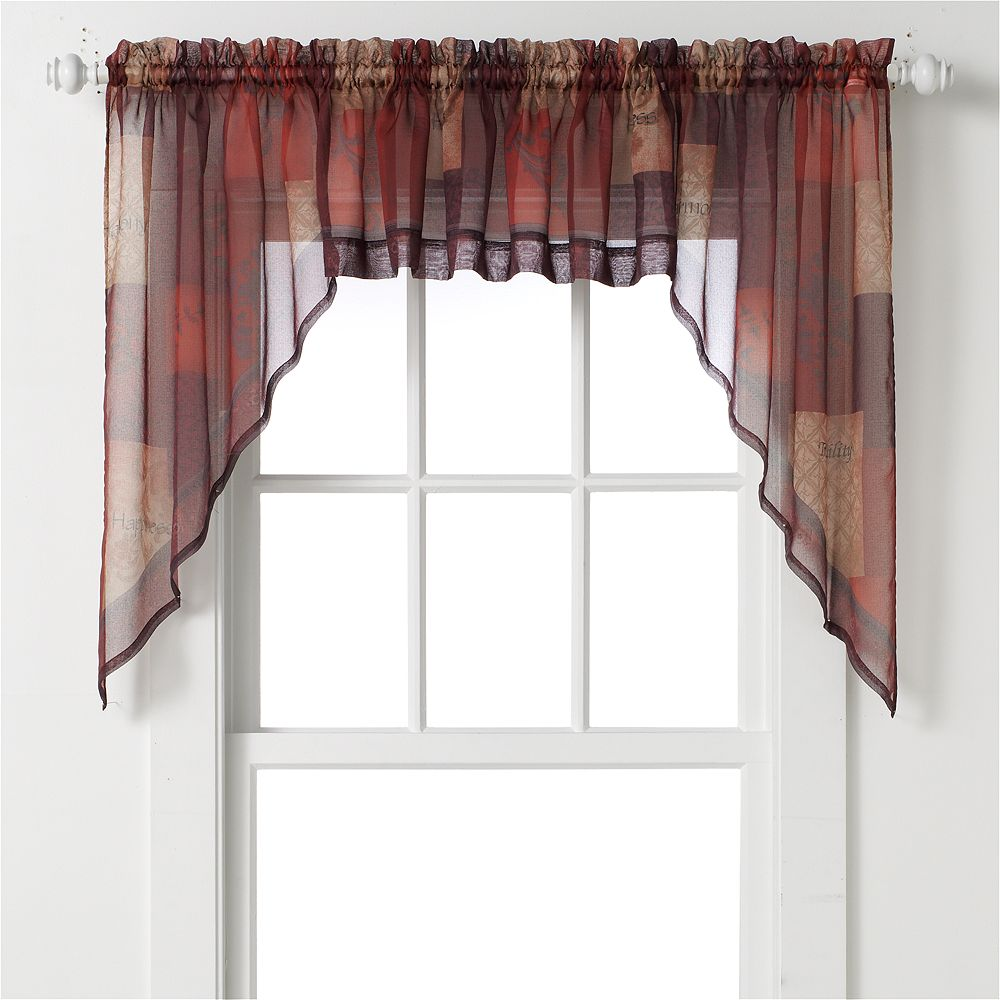 "Eden Swag Curtain Pair - 56"" x 36"""