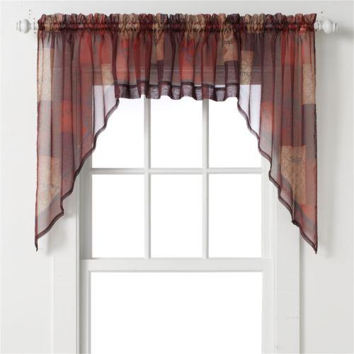 Eden Swag Curtain Pair - 56'' ...