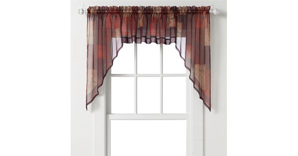 Eden Swag Curtain Pair 56 X 36