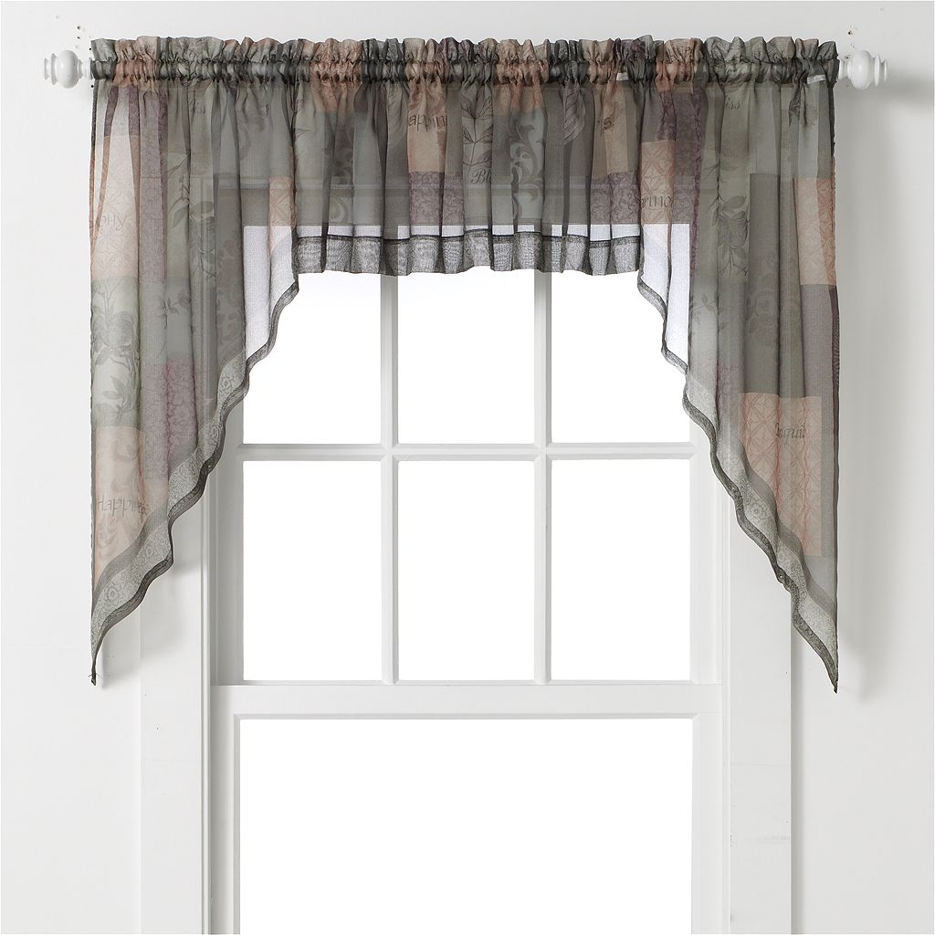 Eden Swag Curtain Pair - 56