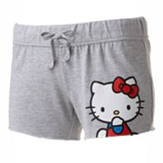 Hello Kitty Kitty Attitude Lounge Shorts - Juniors'
