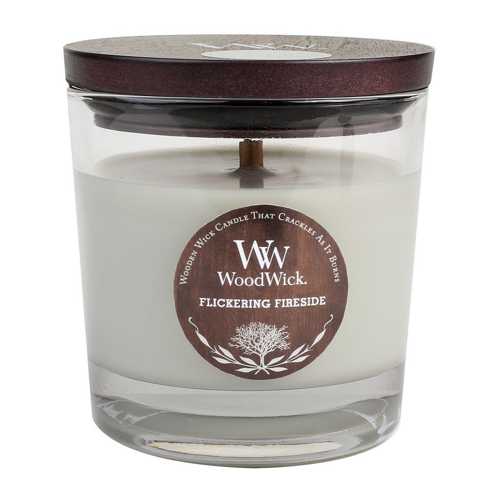 WoodWick Flickering Fireside 10 1/2-oz. Jar Candle
