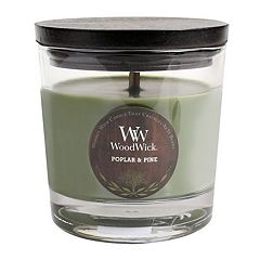 WoodWick Poplar & Pine 10 1/2-oz. Jar Candle