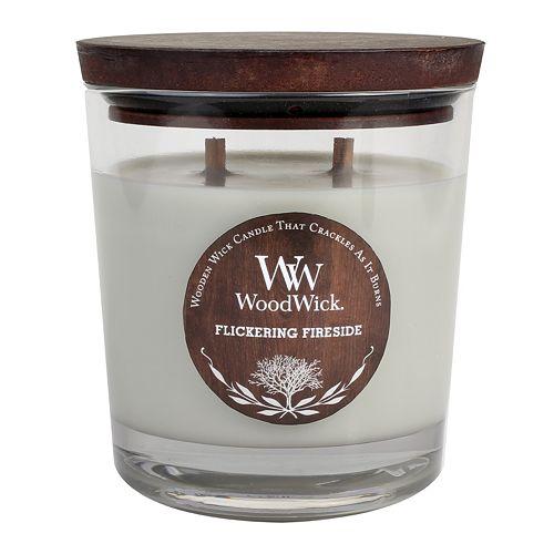 WoodWick Flickering Fireside 17.2-oz. Jar Candle