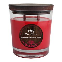 WoodWick Cinnamon Buttercream 17.2-oz. Jar Candle