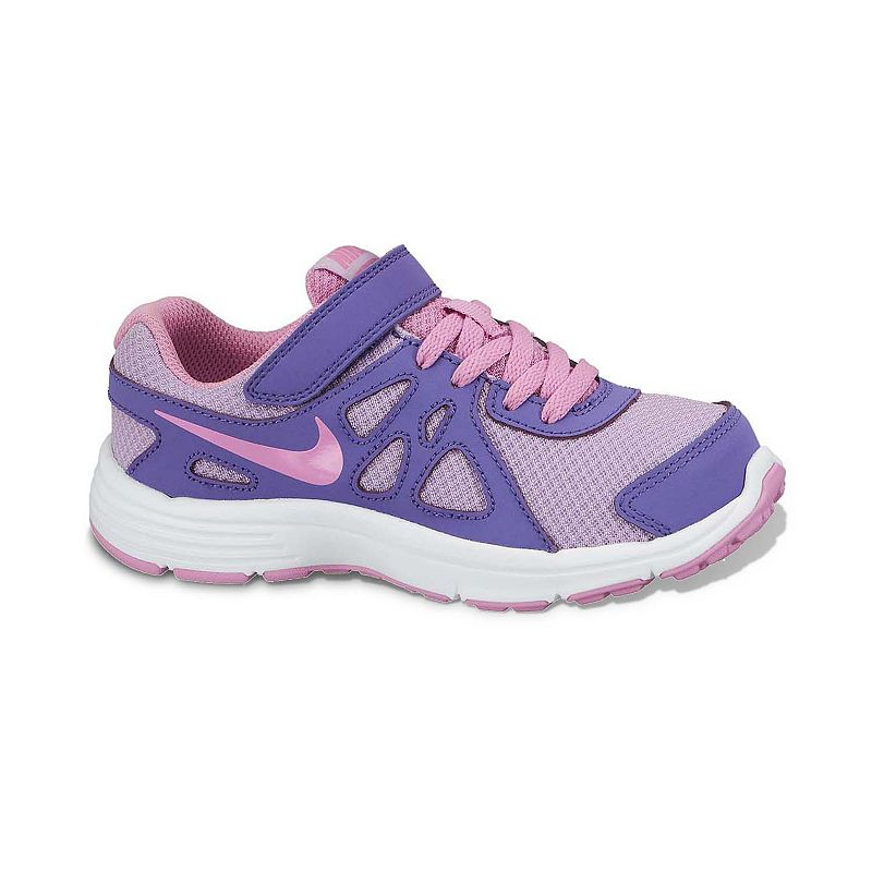 new concept 5db6e 0d443 Nike Purple Revolution 2 Running Shoes - Pre-School Girls