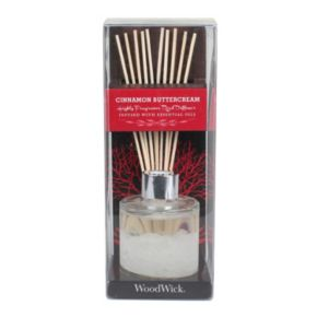 WoodWick Cinnamon Buttercream 12-pc. Reed Diffuser Set