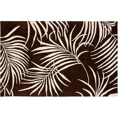 "Safavieh Soho Jungle Leaf Rug 3'6"" x 5'6"""