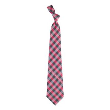 Men's Texas Tech Red Raiders Plaid NCAA Tie