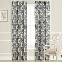 Laura Ashley Tatoon Sheer Window Panel Pair - 40'' x 84''