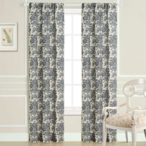 Laura Ashley 2-pack Tatoon Sheer Window Curtains - 40'' x 84''